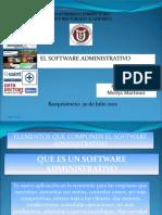 Tutorial Sobre Los Elementos Que Componen Un Software Administrativo..