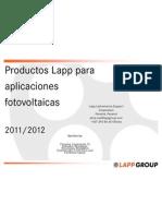 Lapp Cables y Conectores Fotovoltaicos