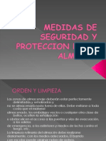 Medidas de Seguridad y Proteccion en El Almacen
