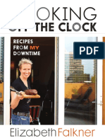Cooking Off the Clock by Elizabeth Falkner - Recipes and Excerpt