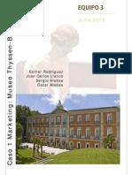 Caso Marketing Estratégico - Museo Thyssen Bornemisza
