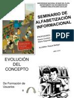 SEMINARIO ALFABETIZACIÓN INFORMACIOANL