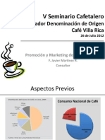 Promoción y Marketing del Café Villa Rica