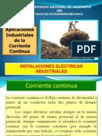 aplicaciones industriales de la corriente continua