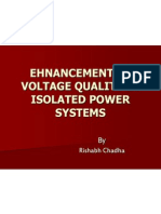 Ehnancement of Voltage Quality i