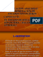 100105, Capitulo II El Estado de Situacion Financiera b+
