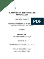 DEFORMACIÓN DE VIGAS DE EJE RECTO