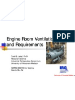 Engine Room Ventilation Design and Requirements