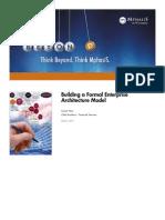 Building a Formal Enterprise Architecture Model