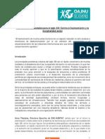 AG3 - Plantificación de ciudades para el siglo XXI Contra el hacinamiento y la marginalidad social