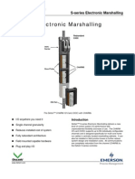 PDS S Series Electronic Marshalling