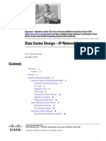 Data Center Design—IP Network Infrastructure