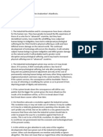 Unabomber's Manifesto