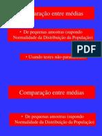 Comparacao de Medias