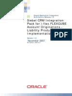 Flexcube Installation
