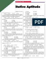 Quantitative Aptitude1