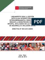 Directiva 004-2012-MIDIS