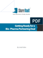 ShareVault White Paper Bio Pharma Partnering