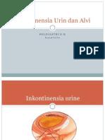 Inkontinensia Urin dan Alvi.pptx