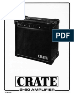 Crate G60 Operation Manual