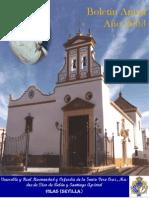Boletín anual de la Hermandad de Belén de Pilas publicado en el año 2003