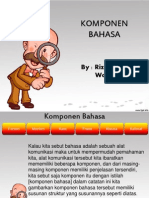 Komponen Bahasa