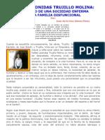 RAFAEL LEONIDAS TRUJILLO MOLINA PRODUCTO DE UNA SOCIEDAD ENFERMA Y UNA FAMILIA DISFUNCIONAL