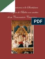 Distinciones a la Santísima Virgen de Belén con motivo de su Coronación Canónica