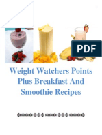 Weight Watchers Points Plus Breakfast and Smoothie Recipes Rev-1