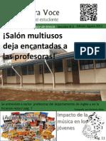 Nostra Voce-Periódico Estudiantil