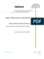 Sanitary Sewer Design Guidelines