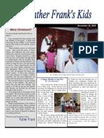 FFK Newsletter 2005