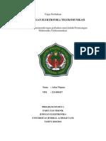 Tugas Perancangan Elektronika Telekomunikasi