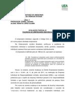 Trabalho de Direito Empresarial v -Renata Lopez Alanis
