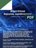 AlgoritmosDesvioCondicional