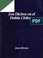 Los Dichos en el Habla Chilena