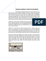 Compact Cassette Recorder