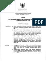 SK Menhut No 447 Tahun 2003 Tentang TU Pengambilan Atau Penangkapan Dan Peredaran TSL