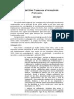 A Pedagogia Crítica Freireana e a Formação de Professores