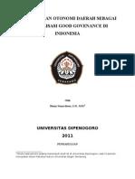 Hukum Administrasi Negara Benny Sumardiana, S.H., M.H.