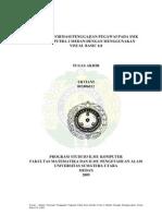 SISTEM INFORMASI PENGGAJIAN PEGAWAI PADA SMK SANDHY PUTRA 2 MEDAN DENGAN MENGGUNAKAN VISUAL BASIC 6.0