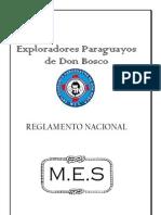 Reglamento Nacional Exploradores Paraguayos