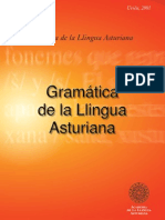 Llingua Asturiana (Asturian Grammar)