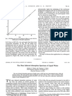 The Near Infrared Absorption Spectrum of Liquid Water