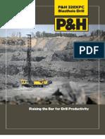 P&H 320XPC Blasthole Drill Brochure