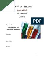 Quimica1PRACTICA1 ConocimientoDelMaterialDeLaboratorio