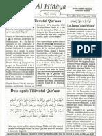 Al Hidayya Numero 32