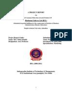 Behaviour Towards Products of Hindustan Unilever Ltd (HUL) by Kalpesh Patel