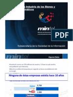 Desarrollo de La Industria de Los Bienes y Servicios Informaticos Mintel