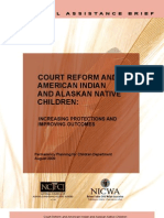Court Reform and American Indian and Alaskan Native Children - 2009
